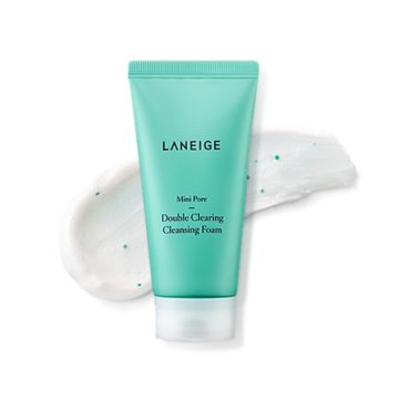 Laneige Mini-Pore Double Clearing Cleansing Foam