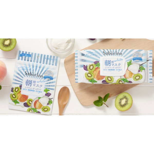 BCL Saborino Morning Mask Kiwi Yogurt