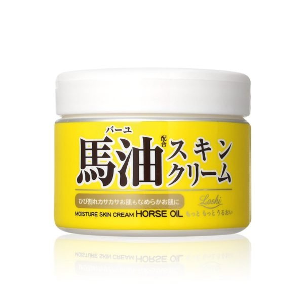 Cosmetex Roland Loshi Horse Oil Moisture Skin Cream (220g)