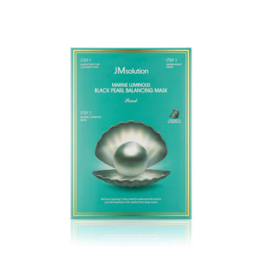 JM SOLUTION Black Pearl Balancing Mask