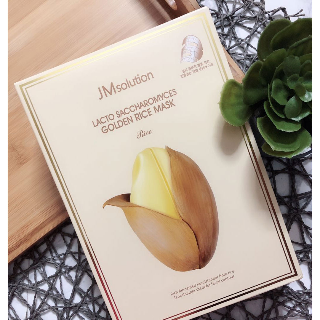 JM SOLUTION Lacto Saccharomyces Golden Rice Mask Rice