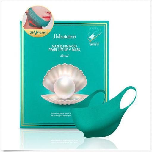 JM SOLUTION MARINE LUMINOUS PEARL LIFT-UP V MASK