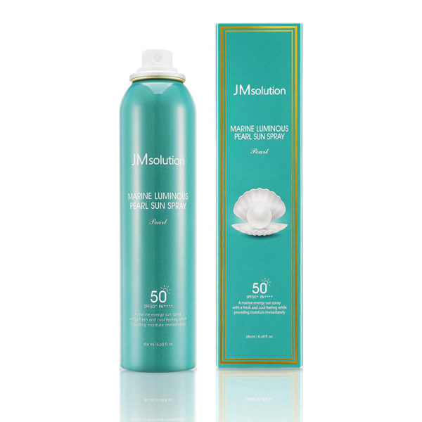 JM SOLUTION Marine Luminous Pearl Sun Spray SPF50 PA++++