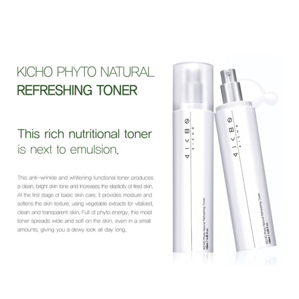 KICHO Phyto Natural Refreshing Toner