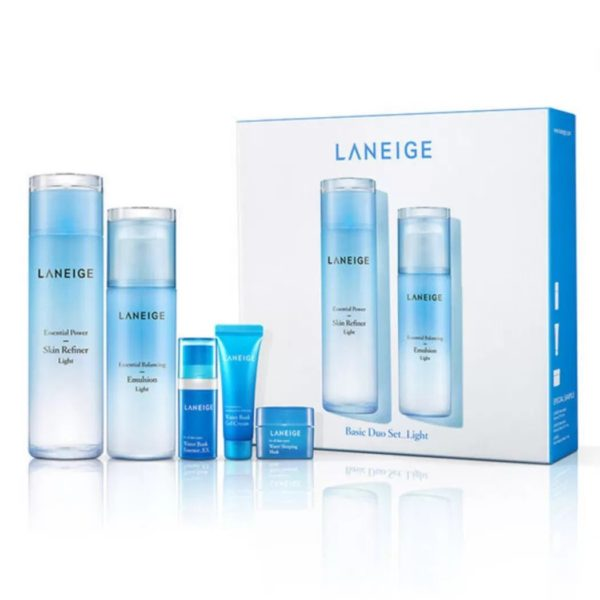 Laneige Basic Duo Set - Light (5 items)