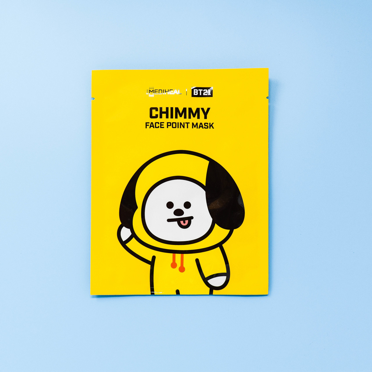 MEDIHEAL × BT21 CHIMMY FACE POINT MASK Ex