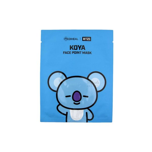 MEDIHEAL × BT21 KOYA FACE POINT MASK