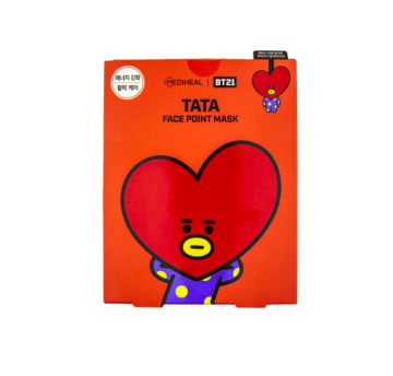 MEDIHEAL × BT21 TATA FACE POINT MASK