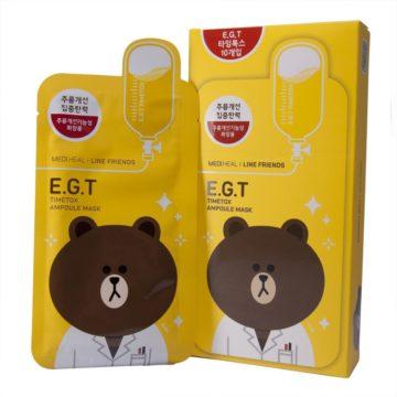 Mediheal Line Friends E.G.T Timetox Ampoule Mask (10pcs)