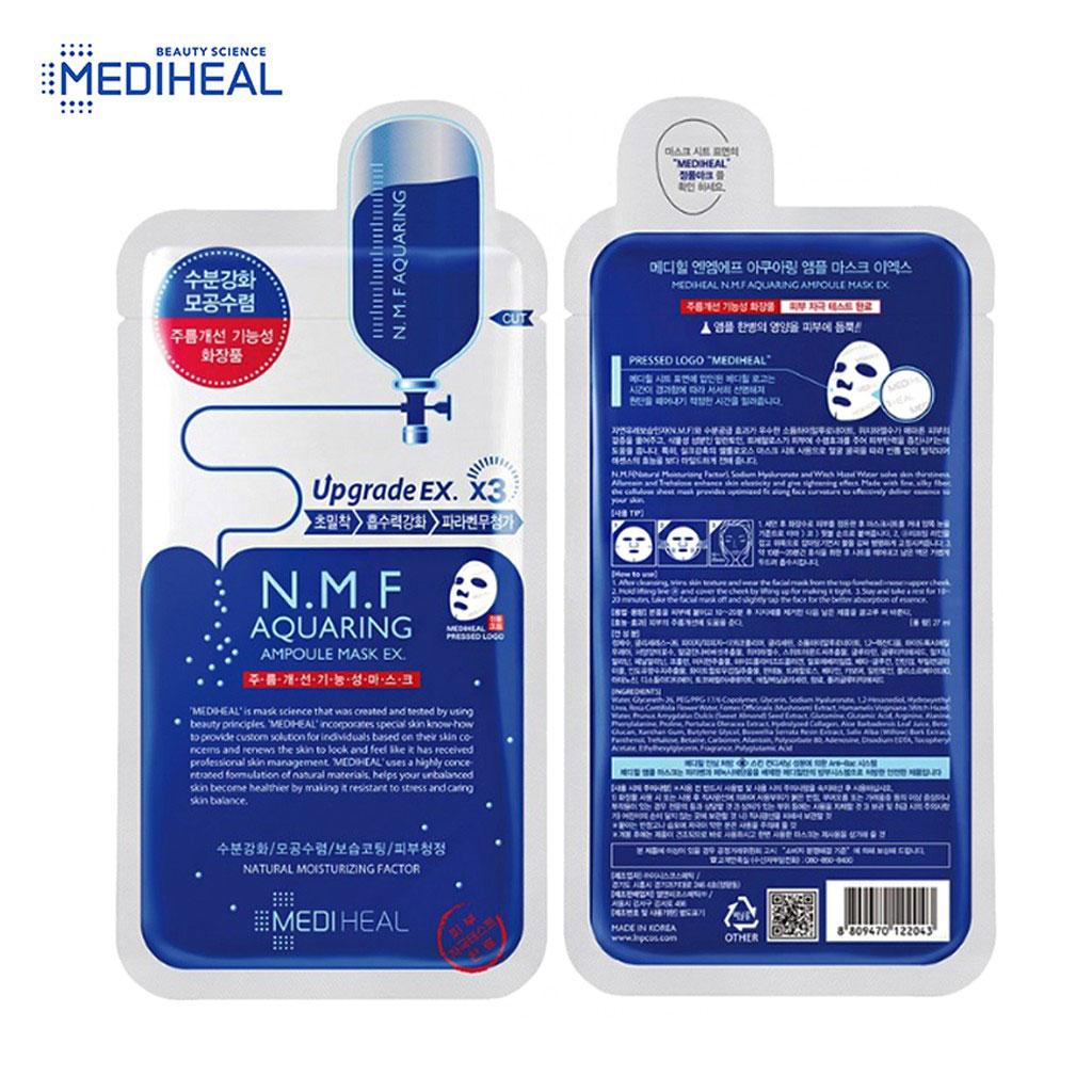Mediheal N.M.F Aquaring Ampoule Mask Rex (10piece)