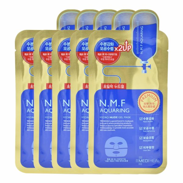 Mediheal N.M.F. Aquaring Gel Mask (10pcs)