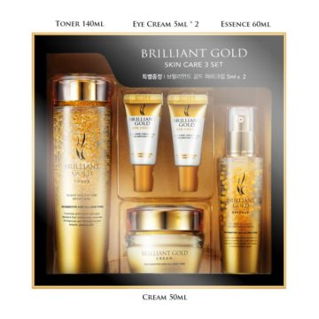 AHC Brilliant Gold Skin Care Set (5piece)