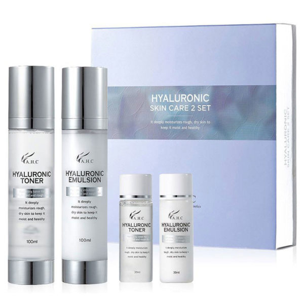 AHC Hyaluronic Skin Care 2 Set (4piece)