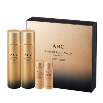 AHC Superior Black Caviar Set (4piece)