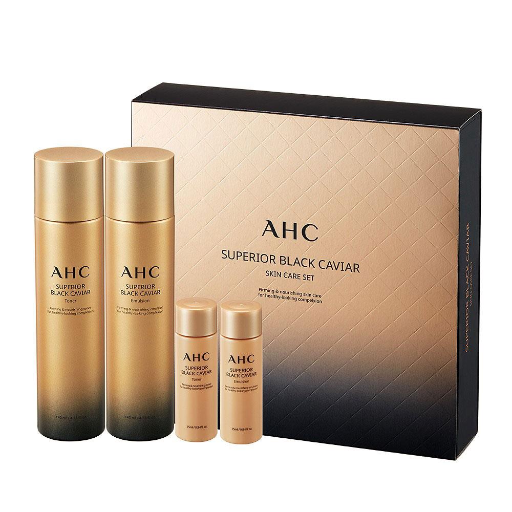 AHC Superior Black Caviar Set (4piece)
