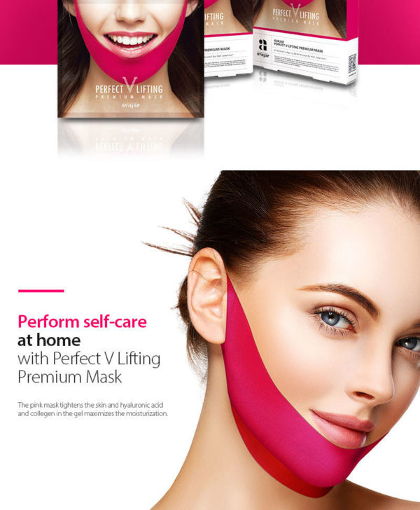 AVAJAR Perfect V Lifting Premium Mask (5pcs)