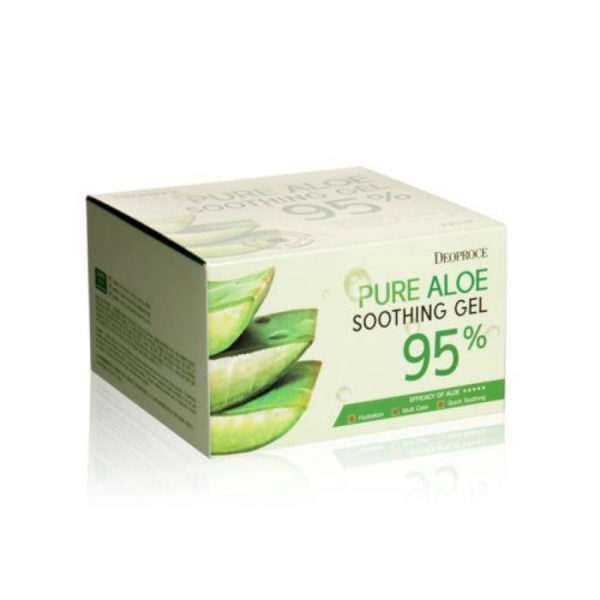 Deoproce 95% Pure Aloe Soothing Gel