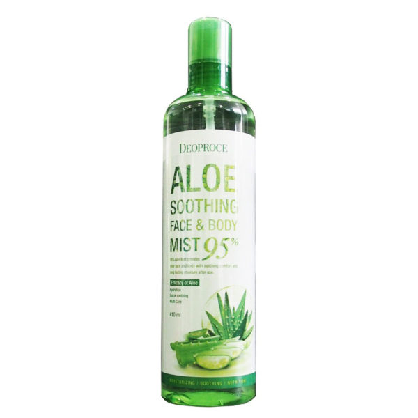 Deoproce 95% Aloe Soothing Face & Body Mist