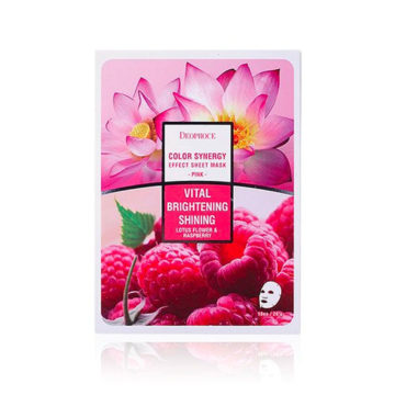 Deoproce Color Synergy Effect Sheet Mask – Pink