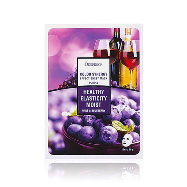 Deoproce Color Synergy Effect Sheet Mask – Purple