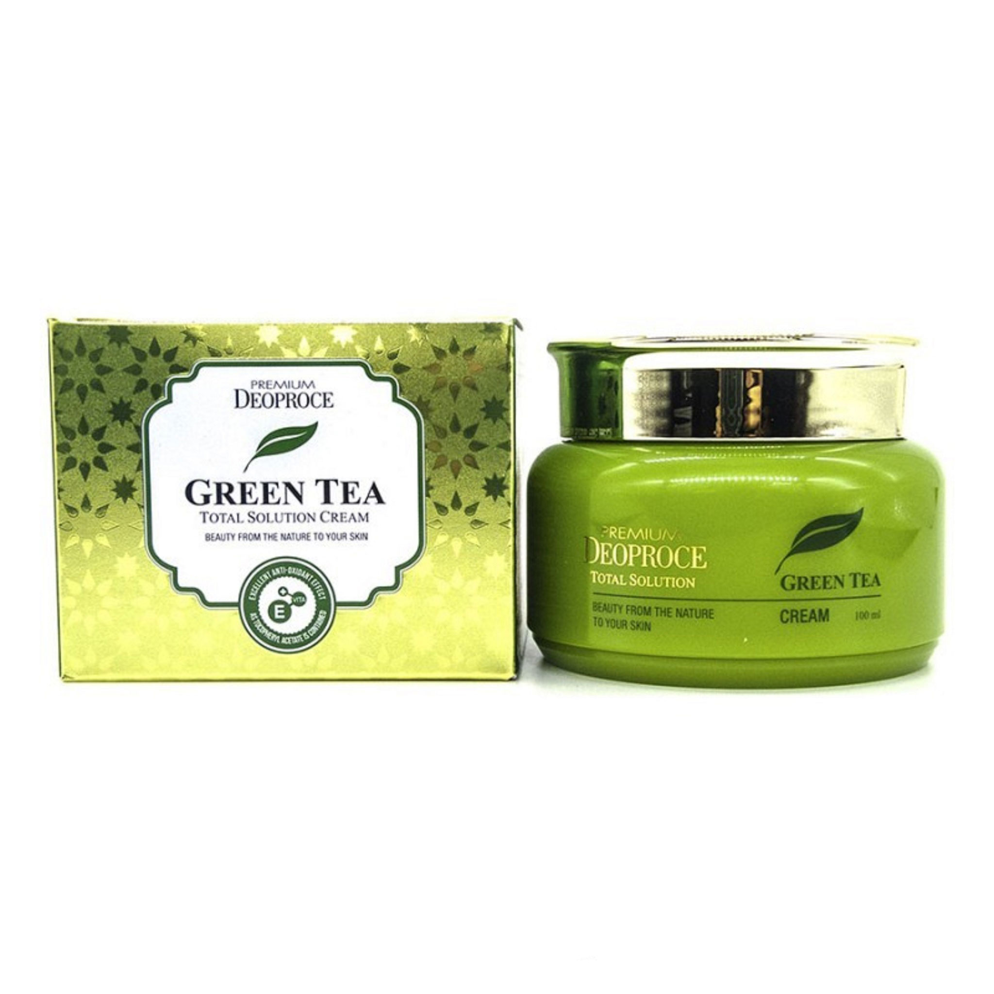 Deoproce Green Tea Total Solution Cream