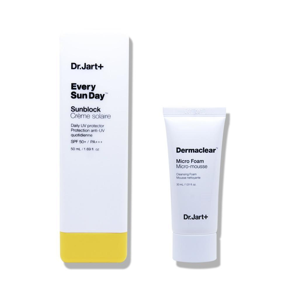 Dr. Jart+ Every Sun day Sun Fluid Special Set (with Dermaclear Micro Foam) (2 items)