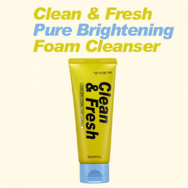 EUNYUL Clean & Fresh Pure Brightening Cleansing Foam