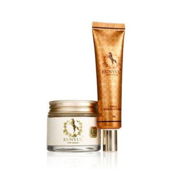 EUNYUL Horse Oil Eye Cream & Face Cream Box Set