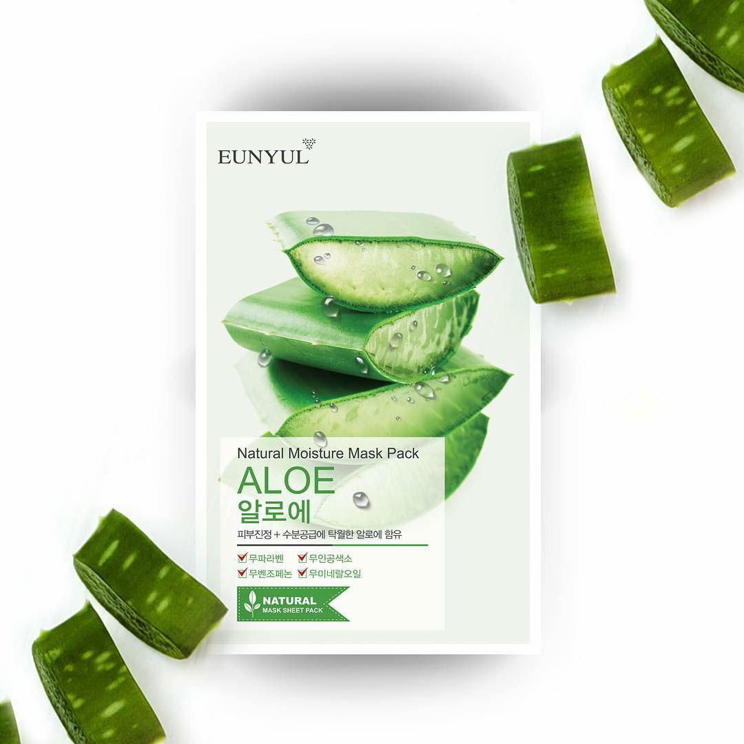 EUNYUL Natural Moisture Mask Pack –Aloe