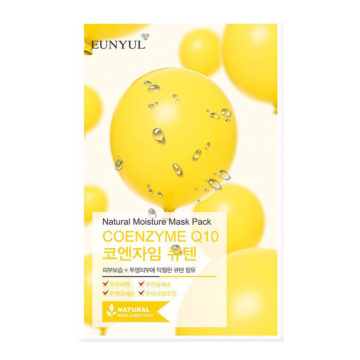 EUNYUL Natural Moisture Mask Pack –Coenzyme Q10