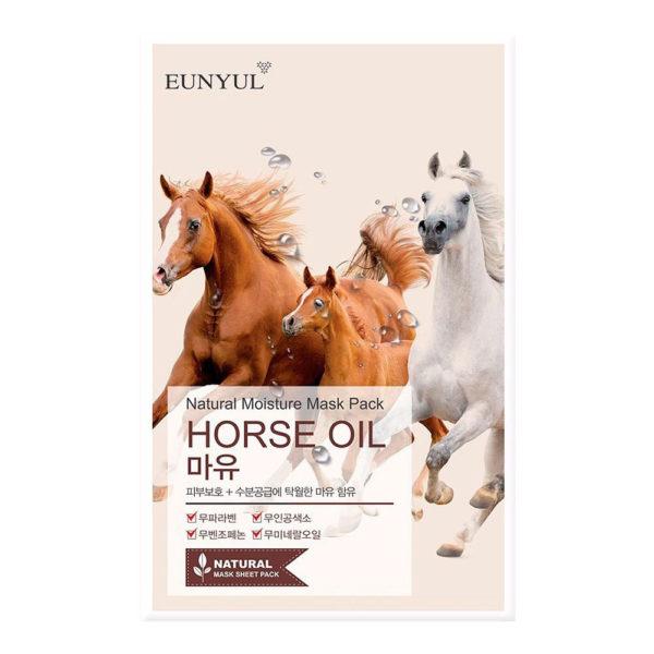 EUNYUL Natural Moisture Mask Pack –Horse Oil
