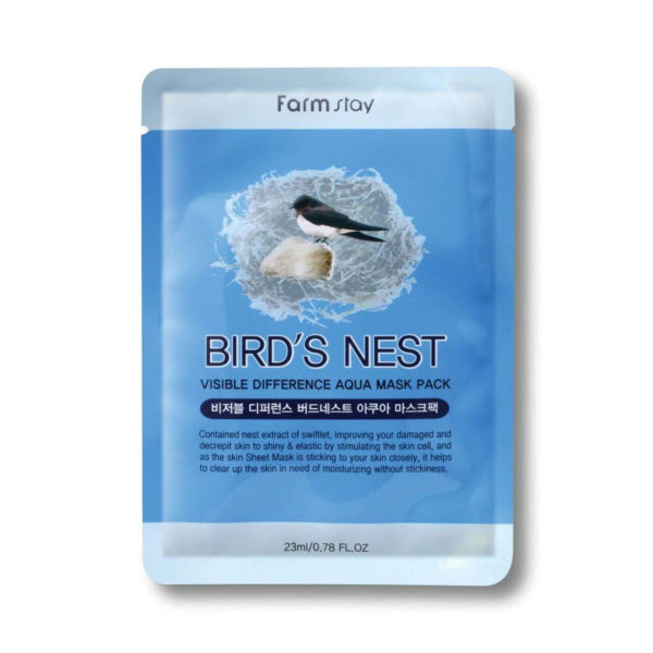 Farm Stay Bird's Nest Visible Difference Aqua Mask Pack