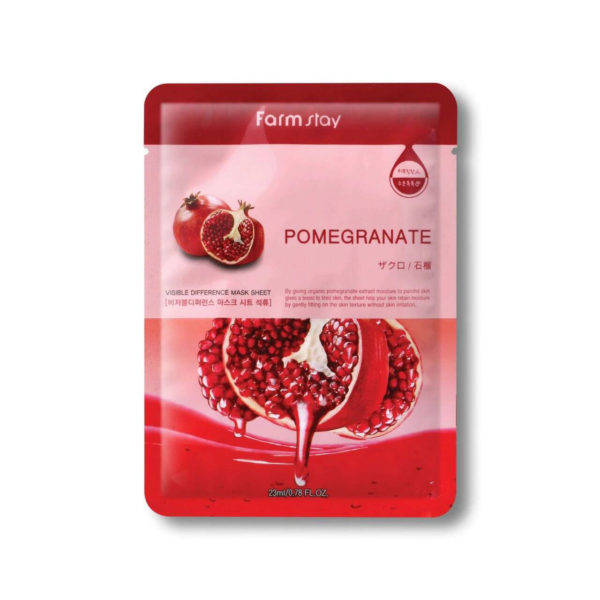 Farm Stay Pomegranate Visible Difference Mask Sheet