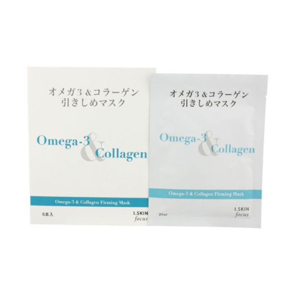 I. SKIN Focus Omega-3 & Collagen Firming Mask (New Packaging)