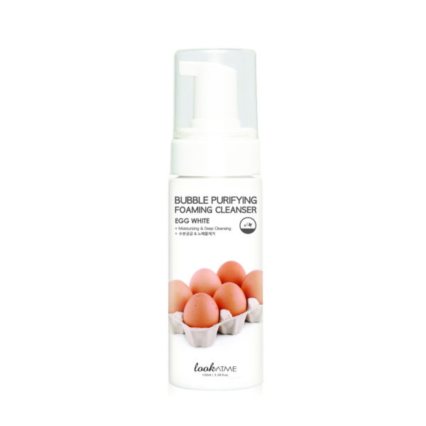 LOOK AT ME Bubble Purifying Foaming Cleanser Egg White Moisturizing & Deep Cleansing