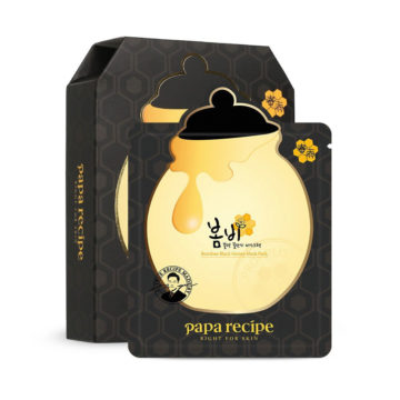 Papa Recipe Bombee Black Honey Mask Pack (10 pcs)