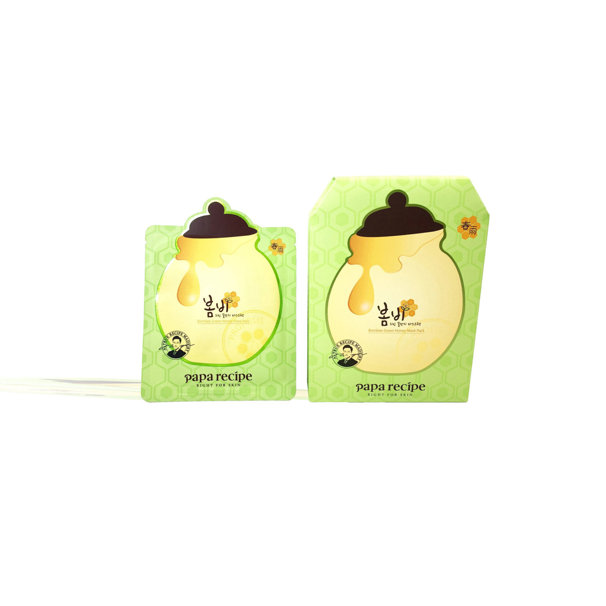 Papa Recipe Bombee Green Honey Mask Pack