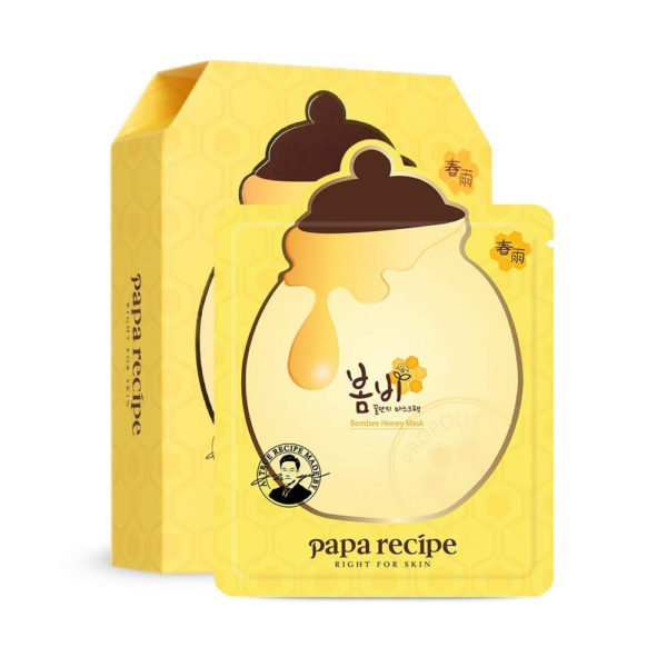 Papa Recipe Bombee Honey Mask Pack (10 pcs)