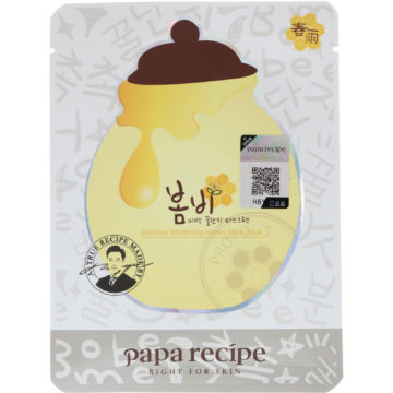 Papa Recipe Bombee Whitening Honey Mask Pack (10 pcs)