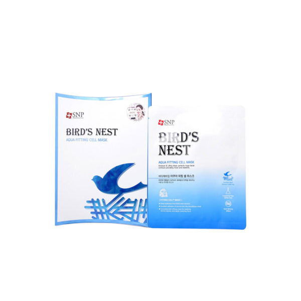 SNP BIRD'S NEST AQUA FITTING CELL MASK