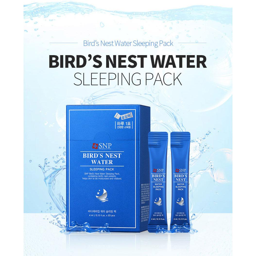 SNP BIRD'S NEST WATER SLEEPING PACK (20piece)