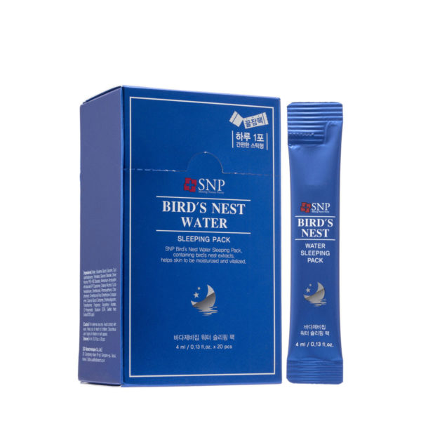 SNP BIRD'S NEST WATER SLEEPING PACK (20piece)