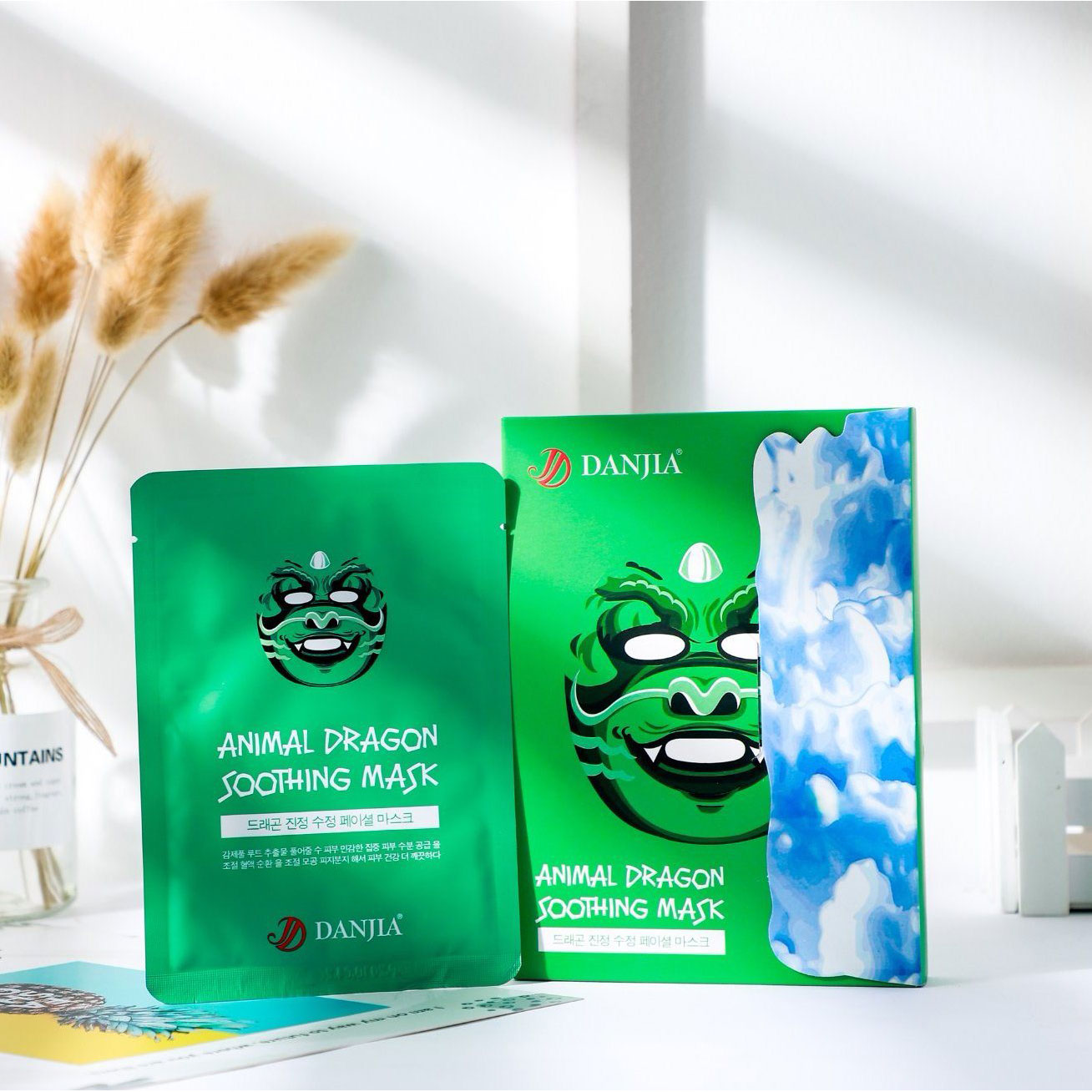 SNP Dragon Soothing Mask (10piece)