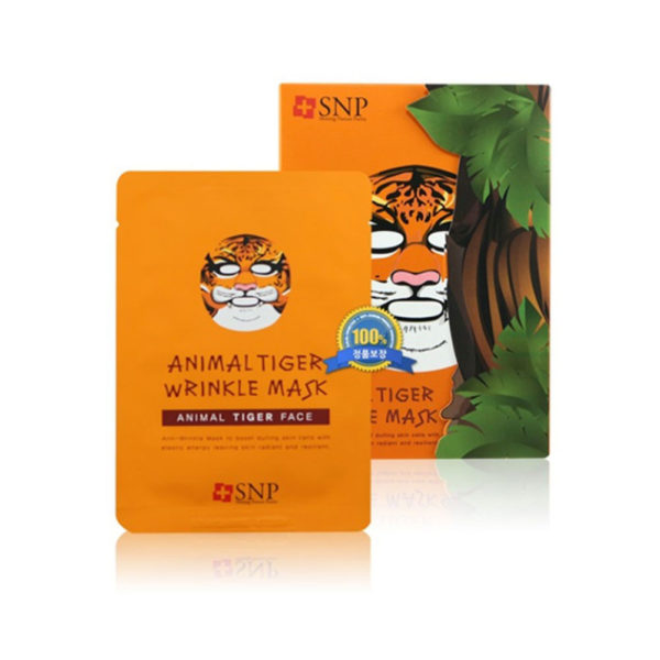 SNP Tiger Wrinkle Mask (10piece)