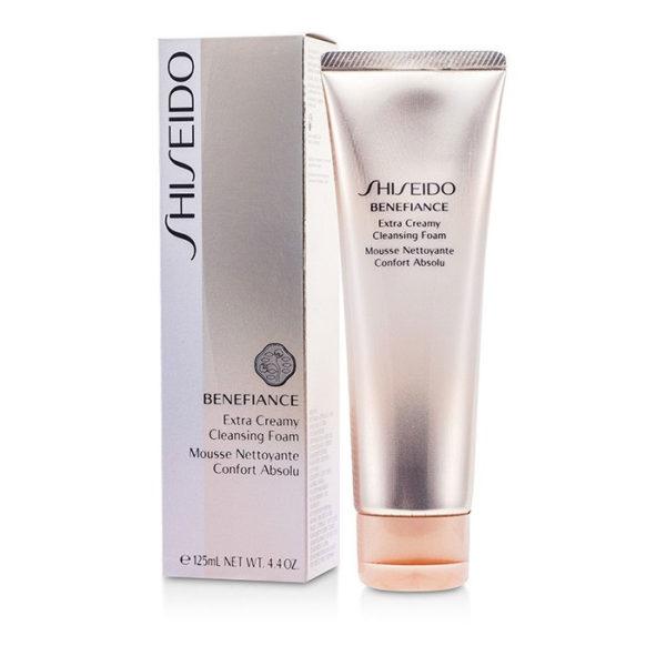 Shiseido Benefiance Extra Creamy Cleansing Foam