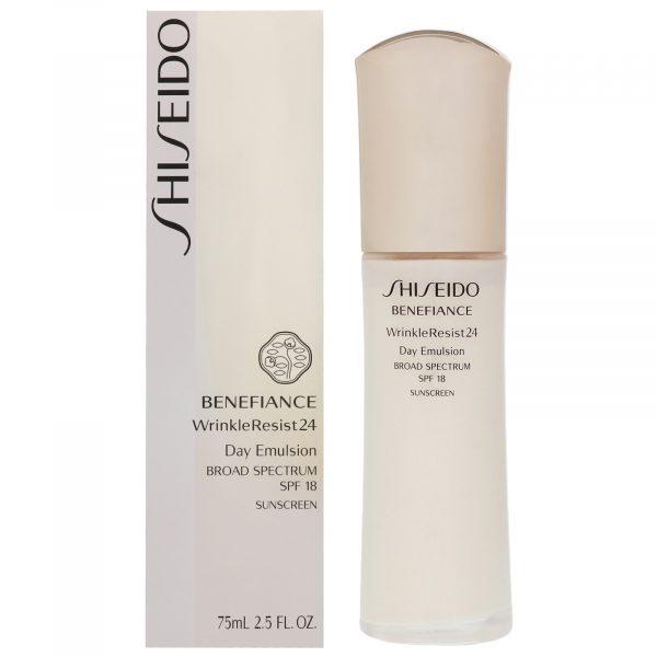 Shiseido Benefiance Wrinkle Resist 24 Day Emulsion SPF18