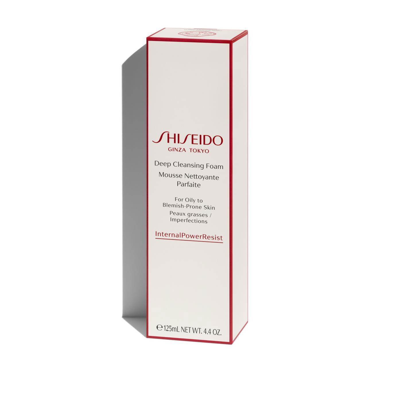 Shiseido Deep Cleansing Foam
