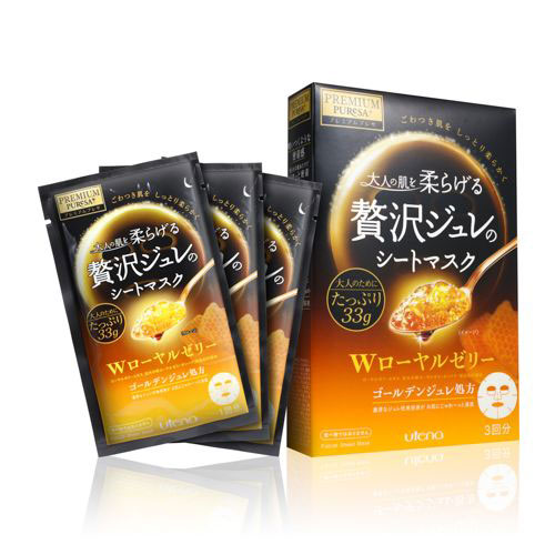 Utena Puresa Premium Puresa Golden Gelee Mask Royal Jelly