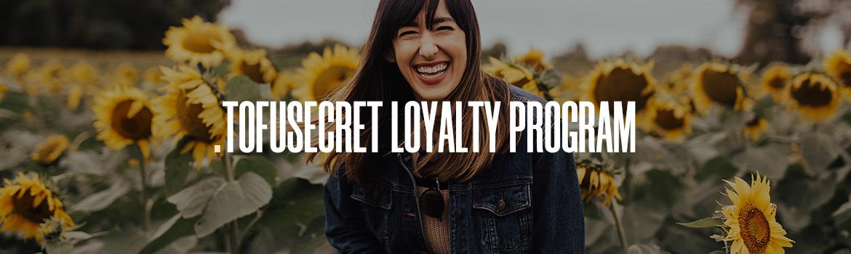 tofusecret korean and japanese skincare loyalty program