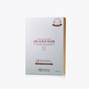 Gold Energy Snail Synergy 24K 4D Gold Mask [Pore Care & Moisturizing] 10 pcs